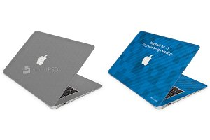 MacBook Air 13 Laptop Skin Mockup