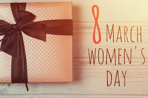 gift for March 8 international women