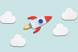 Launch rocket startup (PSD)