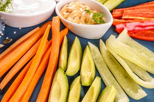 Vegetarian healthy snacks