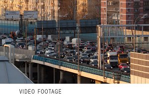 Time lapse traffic congestion