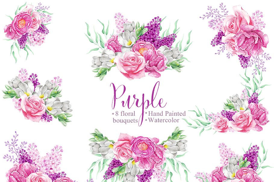 Bouquets,Roses,Flowers,Freesia,Lilac
