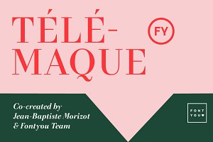 Telemaque FY (4 fonts)