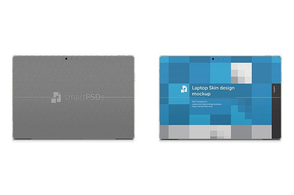 Surface Pro 3 Laptop Skin Mockup ~ Product Mockups ~ Creative Market