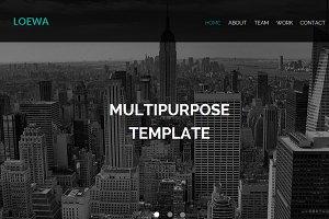 Loewa Muse Theme / HTML