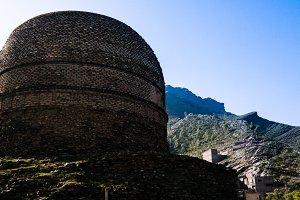 Shingardara Buddhist stupa in Swat v