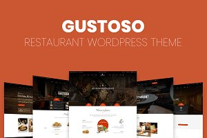 Gustoso - Restaurant WP Theme