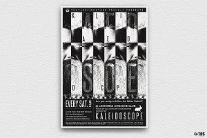 Kaleidoscope Flyer Template
