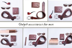 Men's accessories for business.