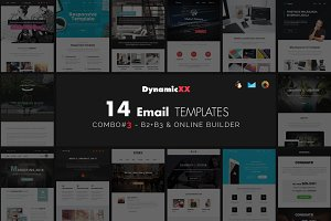 Combo#3 - B2+B3 - 14 Email Templates