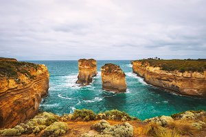Loch Ard Gorge  in Victoria, Australia, near Port Campbell