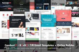 Combo#2 - B1+B3 - 14 Email Templates