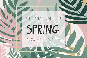 Offer Spring Sale announcement