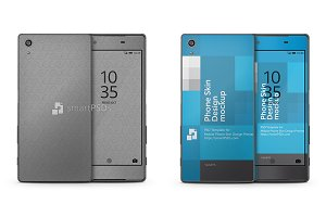 Sony Xperia Z5 Mobile Skin Design