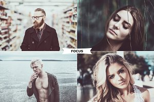 Focus Photoshop Action