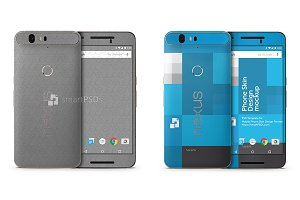 Google Nexus 6P Mobile Skin Design
