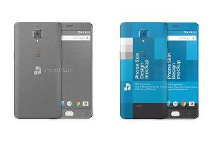 OnePlus 3 Mobile Skin Design Templat