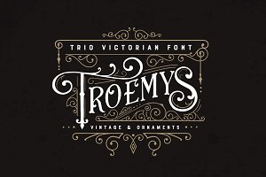 Troemys Font Trio and extras