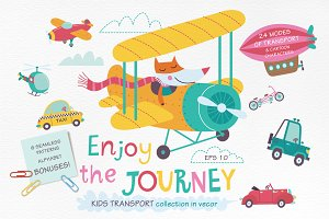 Enjoy the journey. Kids transport.