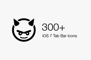 300+ iOS 7 Tab Bar Icons | IconBeast