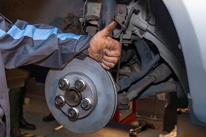Disc Brake Repair.