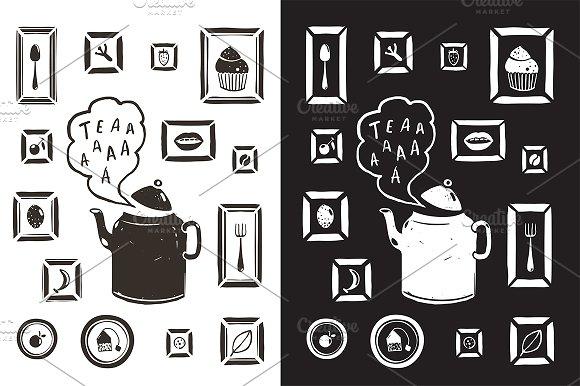 Kitchen Drinking Tea Teapot Design