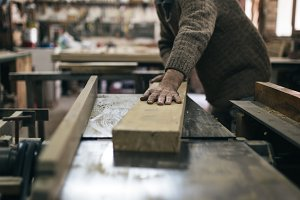 Old master carpenter