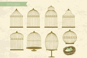 Birdcages set