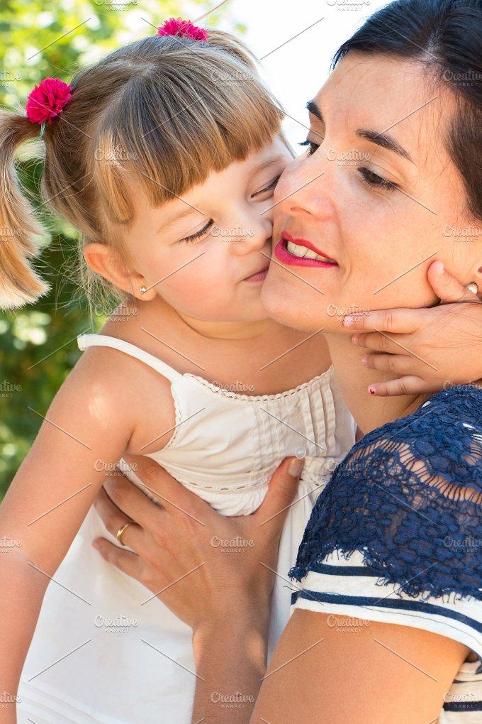 Kissing mum.jpg - People