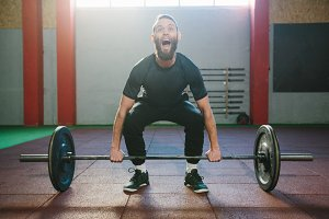 Crossfit heavylifting