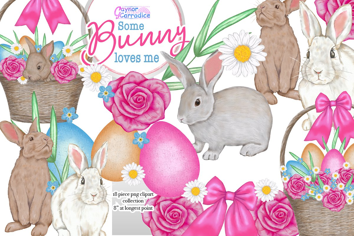 Some bunny love me easter kit
