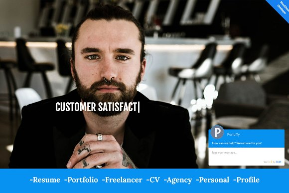 San- HTML5 Portfolio Resume Template