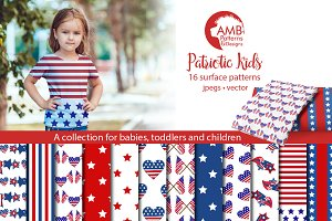 Patriotic pattern, design AMB-1357