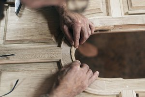 Old master carpenter