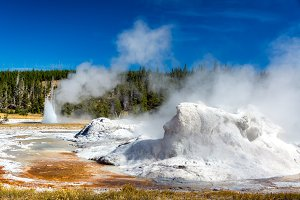 Grotto Geyser View