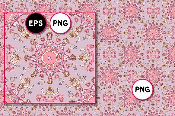 Vector Royal Seamless Pattern