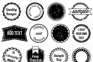 Stamps Clipart & Vectors 2