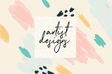 5 Painted Artist Designs