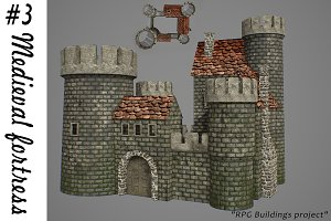 Medieval fortress 3