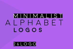 ALPHABET Minimalist logo bundle