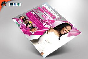 Fashion Conference Flyer Template