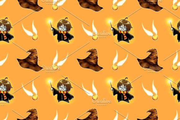 Cartoon Boy Wizard Costume Pattern