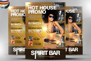 Hot House Promo Flyer Template
