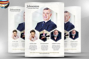 Simple Church Flyer Template