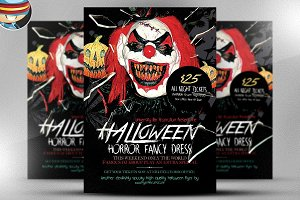 Halloween Horror Flyer Template
