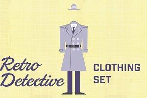 Retro Detective Clothing Set