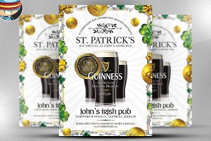 Saint Patrick's Day PSD Flyer 8