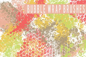 Bubble Wrap Brushes