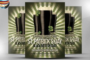 Saint Patrick's Day Promo Flyer