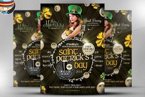 Saint Patrick's Day PSD Flyer 7